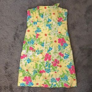 Lilly Pulitzer Bright, Colorful, Flower Dress